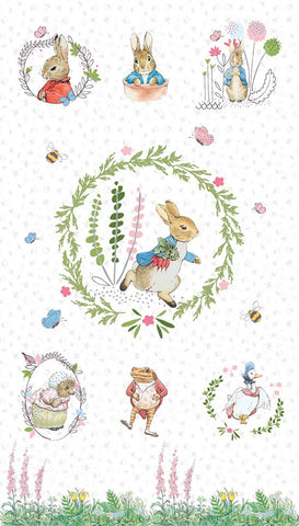 {New Arrival} The Craft Cotton Co Peter Rabbit by Beatrix Potter Peter Rabbit Panel