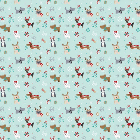 {Pre-Order Sept/October} The Craft Cotton Co Freddie & Friends Christmas Dogs