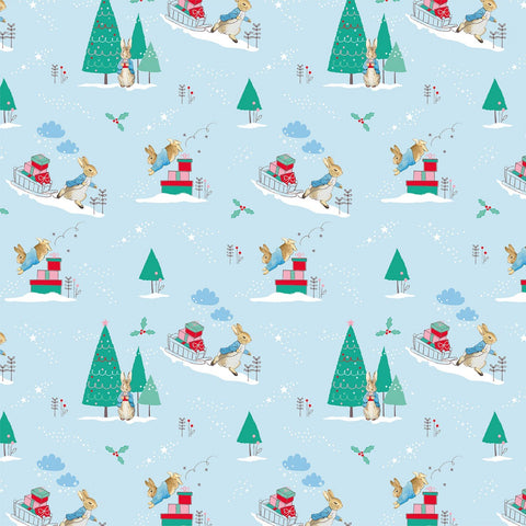 {New Arrival} The Craft Cotton Co Peter Rabbit Christmas Delivering Presents Digital