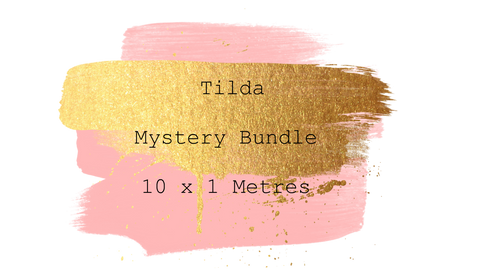 Tilda Mystery Bundle 10 x 1 Metre Pieces