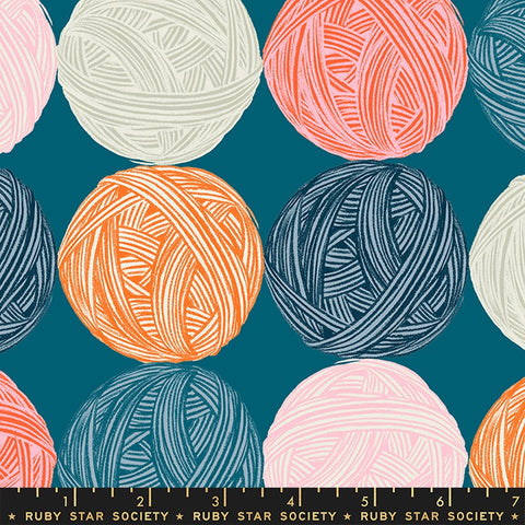 {Pre-Order April} Moda Ruby Star Society Purl Wound Up Teal