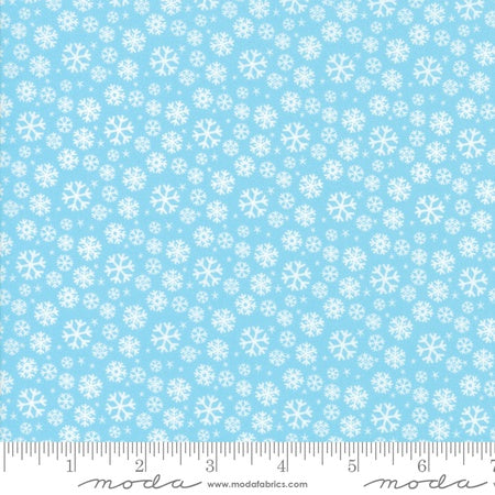 {Pre-Order July} Moda Abi Hall Jolly Season Snowflakes Frost
