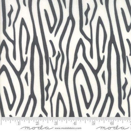 Moda Savannah Zebra Stripe Charcoal