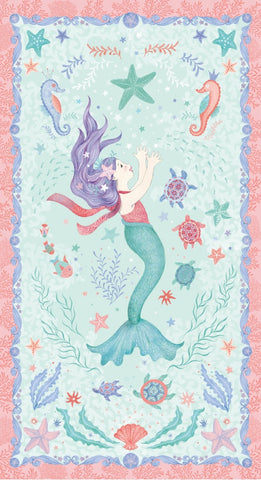 Studio E Designs Mermaid Dreams Panel