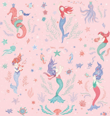 Studio E Designs Mermaid Dreams Pink Main