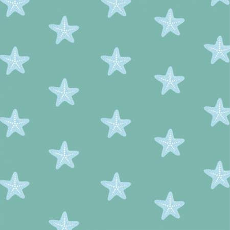 Studio E Designs Mermaid Dreams Starfish Green