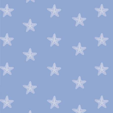 Studio E Designs Mermaid Dreams Starfish Blue