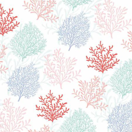 Studio E Designs Mermaid Dreams Coral Cream