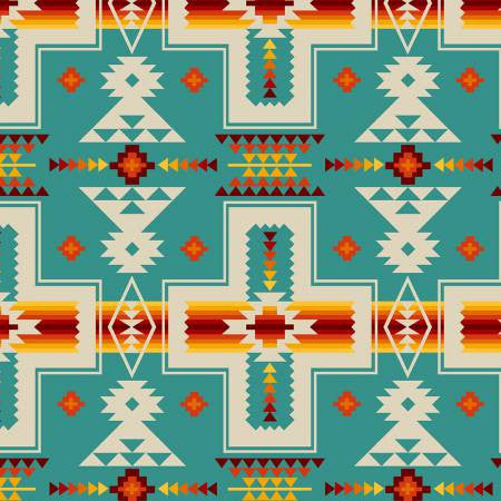 Elizabeths Studio Tucson Collection Turquoise Patch