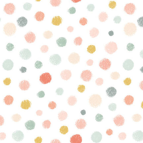 Studio E Designs Woodland Tea Time Dot White