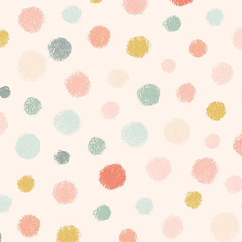 Studio E Designs Woodland Tea Time Dot Pink
