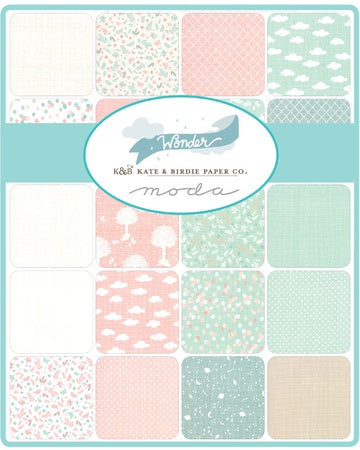{Pre-Order August} Moda Kate & Birdie Wonder Fat Quarter Bundle x 31