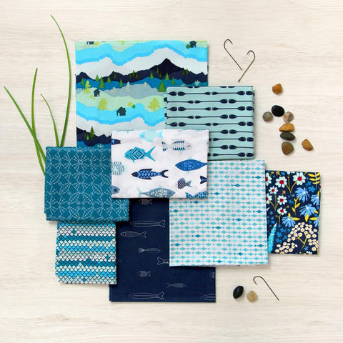 Art Gallery Catch & Release Fat Quarter Bundle x 12 Pieces