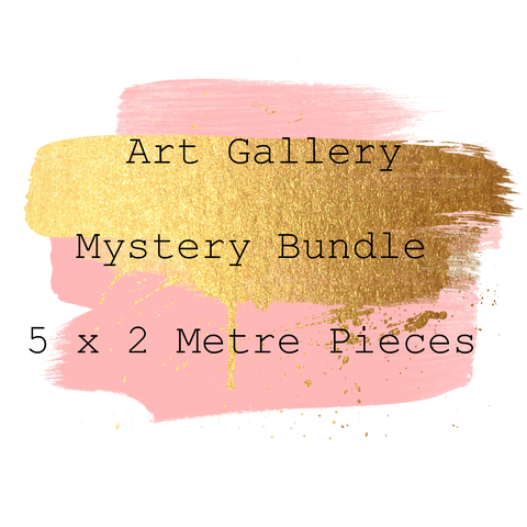 Art Gallery Mystery Bundle 10 Metres 5 x 2 Metre Pieces