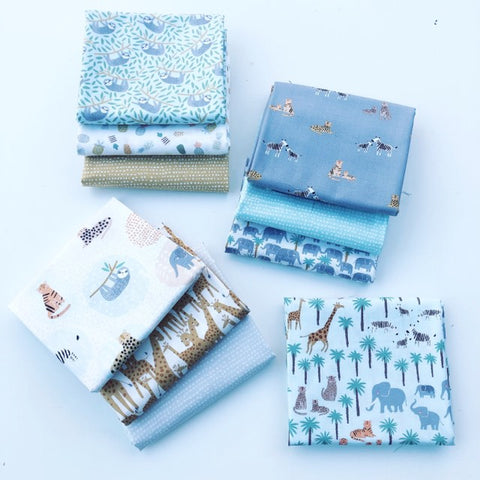 Dear Stella Born to Be Wild Fat Quarter Bundles x 10 Pieces