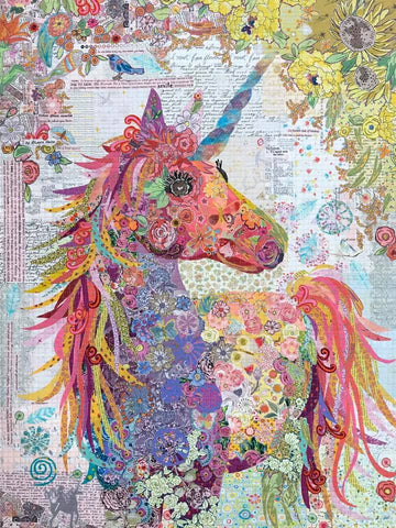 Laura Heine Nola A Unicorn Pattern