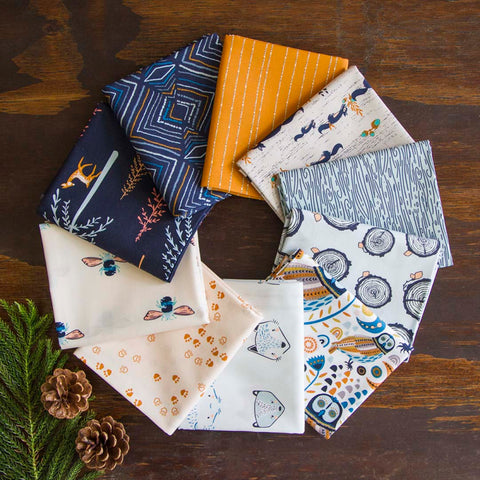 {New Arrival} Little Forester Fusion Fat Quarter Bundles x 10 Pieces