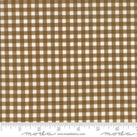 Moda Howdy Stacy Iest Hsu Gingham Brown