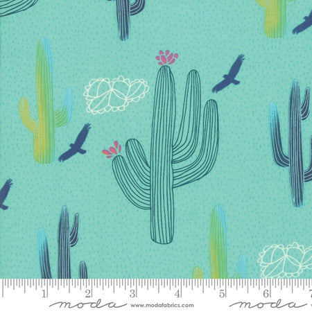 Moda Desert Song Arid Wilderness Aqua