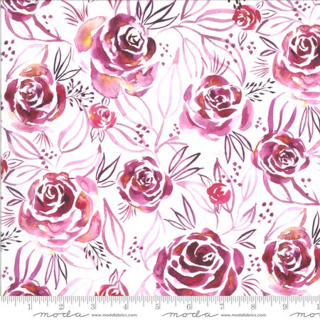 {New Arrival} Moda Moody Bloom Rosette Digital Magenta