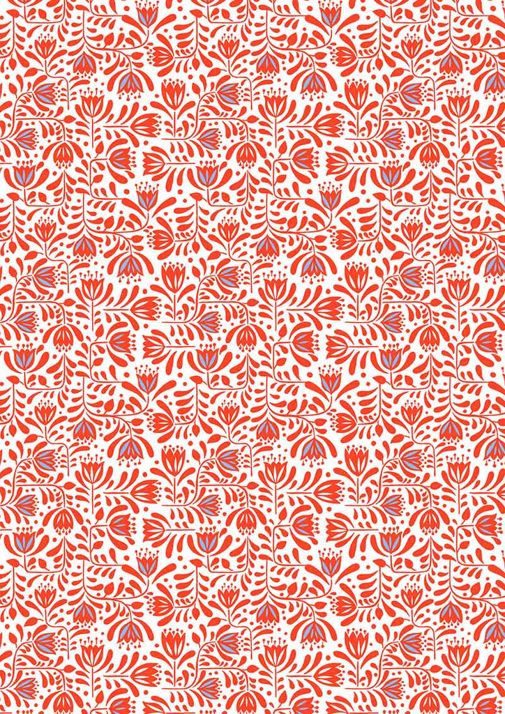 {Pre-Order April} Lewis & Irene Hann's House Hann's Floral Red