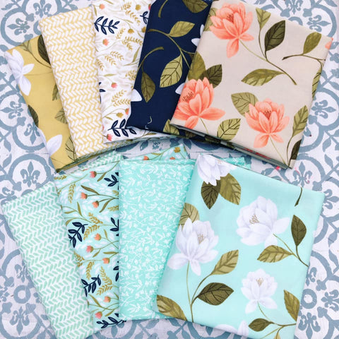 Moda Goldenrod Fat Quarter Bundle x 9 Fat Quarters