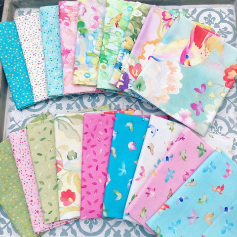 Moda MoMo Flights of Fancy Fat Quarter Bundle 18 FQS
