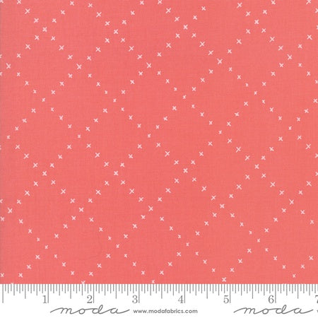 Moda Gingiber Farm Charm Lattice Strawberry