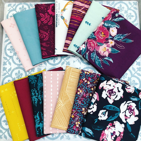 Art Gallery Fusion Foresta Fat Quarter Bundles x 14 Pieces