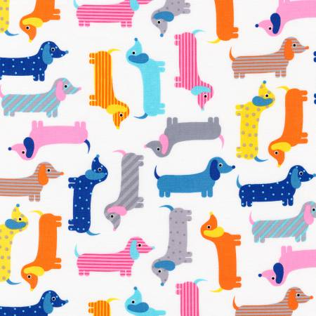 Robert Kaufman Urban Zoologie Collection Multi Dogs