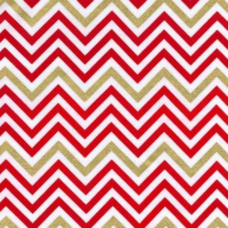 Robert Kaufman Remix Chevron in Flame