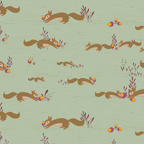 {Pre-Order August} Art Gallery Autumn Vibes Squirrels At Play