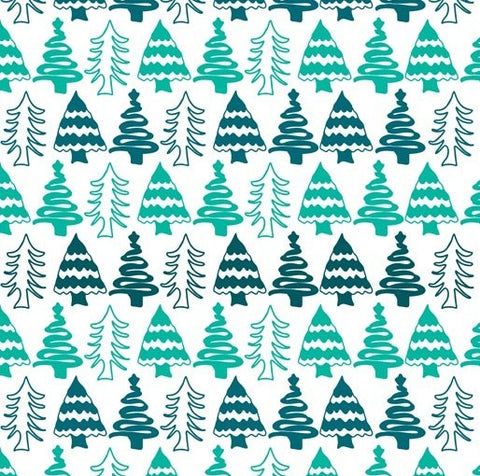 {New Arrival} Aussie Christmas Delights Trees Teal & White