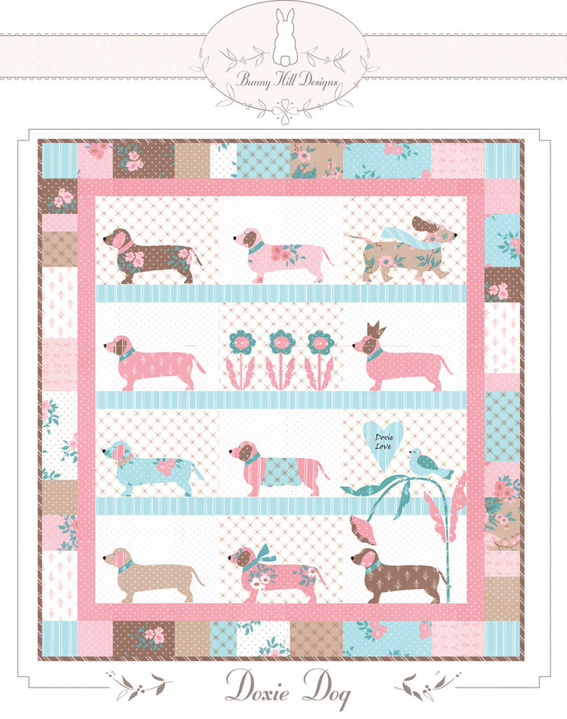 Bunny Hill Designs Doxie Dog Quilt Pattern