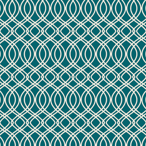 {New Arrival} Art Gallery Bloomsbury Knotted Trellis Spearmint