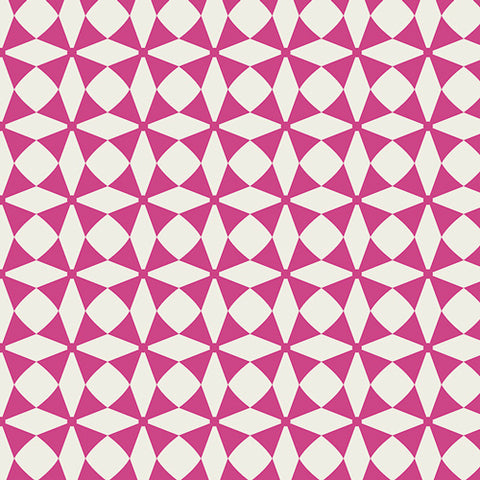 Super Sale Item Art Gallery Blush Windmill Magenta 1 Metre Increments