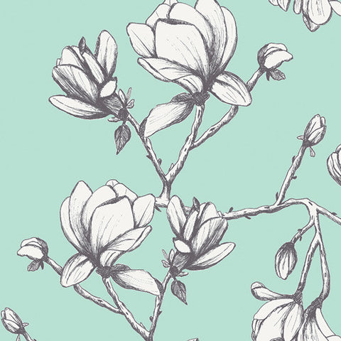 {New Arrival} Art Gallery Wild Bloom CANVAS Magnolia Study Fresh