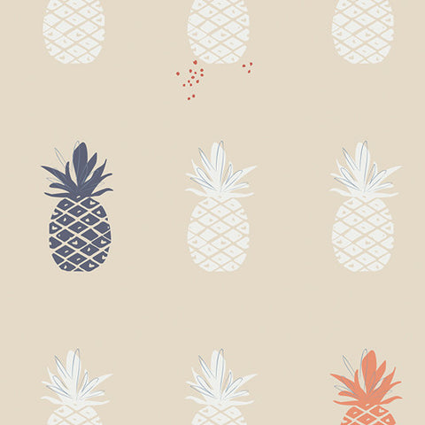 Art Gallery Charleston CANVAS Ananas Cream