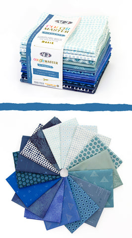 Art Gallery Colour Master Elements Calm Ocean Edition x 16 Fat Quarters