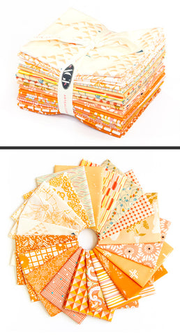 Art Gallery Colour Master Spectrum Bundles Peach Orange x 20 Fat Quarters