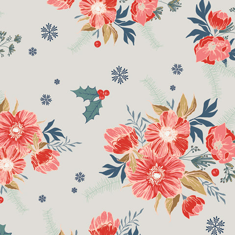 {New Arrival} Art Gallery Cozy & Joyful Frosted Roses
