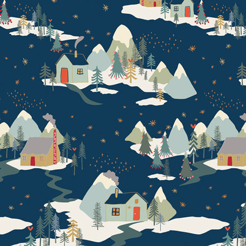 {New Arrival} Art Gallery Cozy & Joyful Winter Wonderland