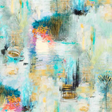 {New Arrival} Flora Bowley Equinox Blue Texture Digitally Printed