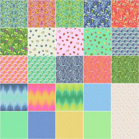 Tula Pink Zuma Fat Quarter 24pcs/bundle