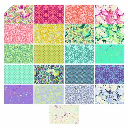 Tula Pink Pinkerville Fat Quarter 21pcs/bundle