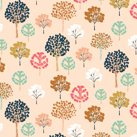 Dashwood Studios Flock Trees Pink