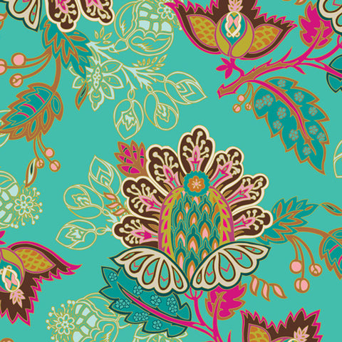 {New Arrival} Art Gallery Fabrics Marrakesh Fusion Exotic Flora Marrakesh