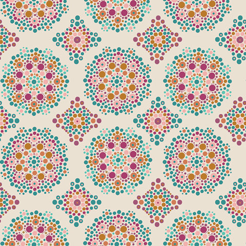 {New Arrival} Art Gallery Fabrics Marrakesh Fusion Mandala Drops Marrakesh