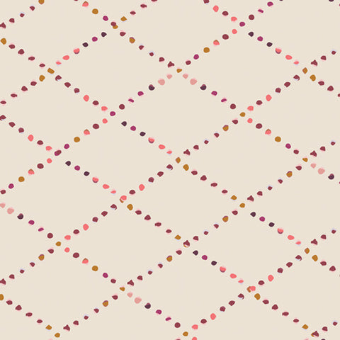 {New Arrival} Art Gallery Fabrics Rosewood Fusion Bokeh Lattice Rosewood