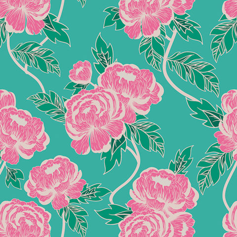 {Pre-Order July/August} Art Gallery Flowerette Flourishing Peonies